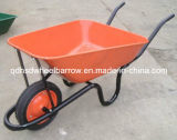 Metal Trayの中国Wheelbarrow Hand Trolley Wb3800