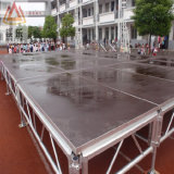 Estágio de alumínio modular ao ar livre da dança da mostra da passarela do evento do casamento do concerto do diodo emissor de luz do grande fardo móvel