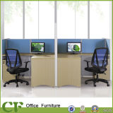120 Grad 3 Seater Büro-Tisch-modularer Arbeitsplatz