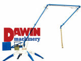 Dawin Machinery New Design Concrete Placing Boom com 4 rodas