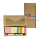 Almofada de nota pegajosa feita sob encomenda com a pena para a promoção, almofada de memorando (GN026)