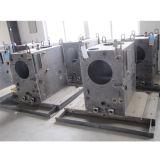 Peça da soldadura da ferragem pela maquinaria do CNC