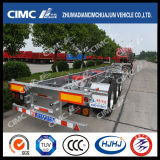 Indicatore luminoso-Duty Skeleton Container Trailer dell'Alluminio-Steel di 48FT Cimc Huajun