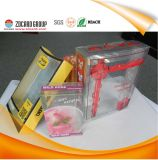 Profession Custom Plastic Packaging Box, Plastic Folding Box, Transparent Plastic Box
