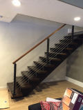 발코니를 위한 실내 현대 스테인리스 철사 계단 방책