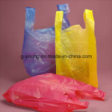 Kundenspezifischer Drucken-Plastikshirt-Beutel