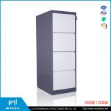 Mingxiuの低価格の高品質4つの引出しのColeの鋼鉄ファイリングキャビネット/引出しのファイルキャビネット
