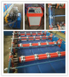 Profile e Ibr trapezoidali Steel Roll Forming Machine per Roofing Sheet