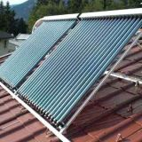 Sistema solar do coletor do calefator de água da tubulação de calor (AKH)