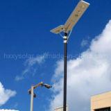 El mejor precio IP65 3 años de garantía toda en una luz de calle solar