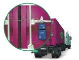Fechamento do reboque com função do perseguidor do GPS para o seguimento do recipiente