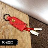 câble de caractéristiques de remplissage de trousseau de clés du câble 2in1 pour iPhone/Andriod