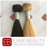 まっすぐなバージンの毛の拡張インド人の毛