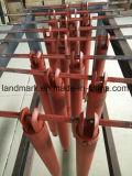 クロム染料で染められためっきされた鋼鉄Pistion油圧オイルシリンダー