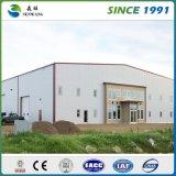 低価格の大きいプレハブの金属の鉄骨フレームの倉庫