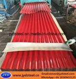 Lamiera di acciaio/mattonelle di tetto galvanizzate preverniciate per gli appartamenti