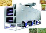Máquina de secagem da correia contínua industrial para a fruta e verdura