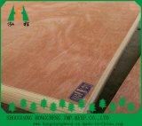 La chapa de Bintangor hizo frente a la madera contrachapada de la cereza del grado de la madera contrachapada/de los muebles
