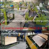 Máquina de la carpintería de la máquina de la chapa serva automática de la base que empalma