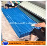 Hoja galvanizada acanalada color de la azotea del acero/del hierro/del metal