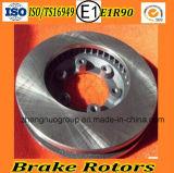 トラックのためのブレーキ回転子ブレーキディスク