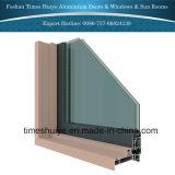 Puertas de aluminio del patio para el balcón o el patio
