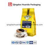 Saco de empacotamento do alimento do café de pé de alumínio plástico com Zipper