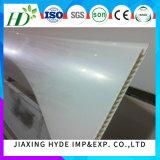 Panneaux blancs de PVC de panneau de mur de PVC de panneau de plafond de PVC de couleur de largeur de bonne qualité de 200mm