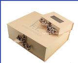 Het hete Vakje van het Document van de Schoenen van het Vakje van de Bloem van het Karton van de Verkoop Gevoelige Rode