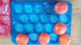 Las bandejas de la pieza inserta de la fruta fresca venden al por mayor las bandejas plásticas modificadas para requisitos particulares las bandejas de empaquetado
