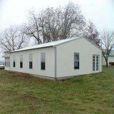 Casa ligera prefabricada de la azotea de aguilón de la estructura de acero (KXD-SSB21)