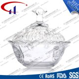 230ml Super White Clear Glass Bowl para Doces (CHM8449)