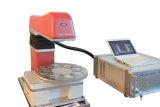 la máquina tamaño pequeño de la marca del laser de la fibra 20W para gira la marca