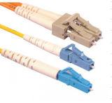 Cordon de connexion de fibre de SM Dx de Sc/Upc-LC/Upc 0.9mm 3m (cavalier optique de fibre de SC/LC)