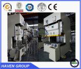 Tipo Closed máquina da porta da imprensa de perfurador da elevada precisão da manivela do dobro da máquina da imprensa