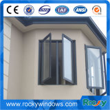 Gute QualitätsAluminiumdoppelverglasung schiebendes Windows