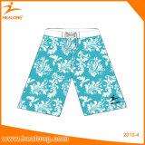 Shorts da praia dos homens do Sublimation da roupa do logotipo da forma de Healong