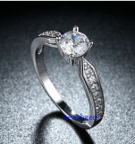 Кольца горячего Zirconia Jewelry- надувательства кубического латунные (R0834)