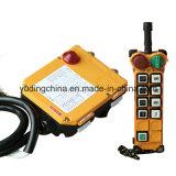Controle de rádio do guindaste da grua/controlo a distância do guindaste/controle F24-8d de Telecrane