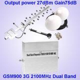 servocommande à deux bandes de 2g 3G pour la servocommande du téléphone cellulaire GSM900 et WCDMA2100
