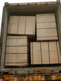 Madera contrachapada Shuttering hecha frente película fenólica de madera del álamo de Brown (21X1525X3050m m)