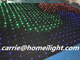 Visão de cor cheia video Curtai da cortina P10cm RGB do diodo emissor de luz