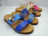Тапочки пляжа женщин PVC Pcu (24ja1602)
