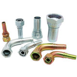 &Adapter convenable hydraulique hydraulique d'embout de durites de boyau de SAE/Bsp /BSPT (20441)
