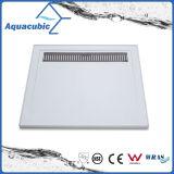 Base sanitaria de la ducha del cuarto de baño del cuadrado 90X90 SMC de la alta calidad de las mercancías con la rejilla (ASMC9090-3)