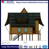 Дом стальной структуры с оборудованием полного комплекта автоматическим