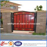 중국 공장 아름다운 단철 안마당 문 디자인