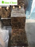 中国ブラウン大理石の暗いEmperadorの大理石のタイル