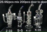 Großhandelsspitzenöl KLEKS Anlage-Glaswasser-Rohr-Glaspfeife auf Lager
