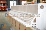 Da câmara imprensa 2017 de filtro 1250 séries para o tratamento de água de esgoto de Printing&Dyeing